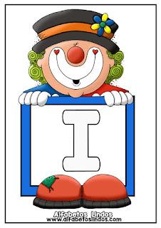 http://www.alfabetoslindos.com/2018/08/alfabeto-palhacinho-letra-i.html