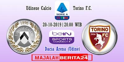 Prediksi Udinese vs Torino — 20 Oktober 2019