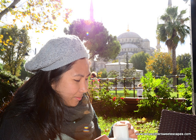 Turkish Coffee near Blue Mosque