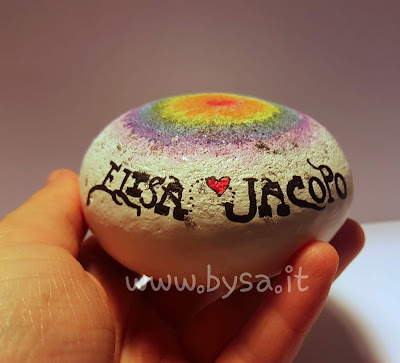 arcobaleno dipinto amore