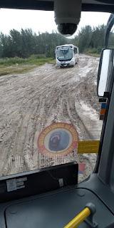 Salineira interrompe circulação de ônibus em Arraial do Cabo neste sábado (18)