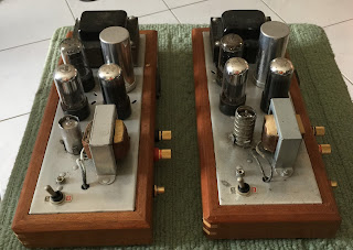 Magnavox 6V6 push pull tube mono blocks (sold) Magnavox%2B6v6%2B3