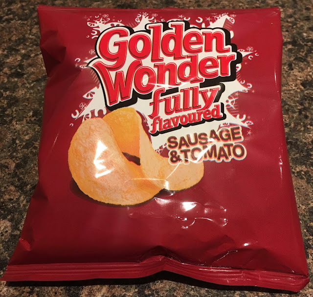 Golden Wonder Sausage & Tomato Crisps