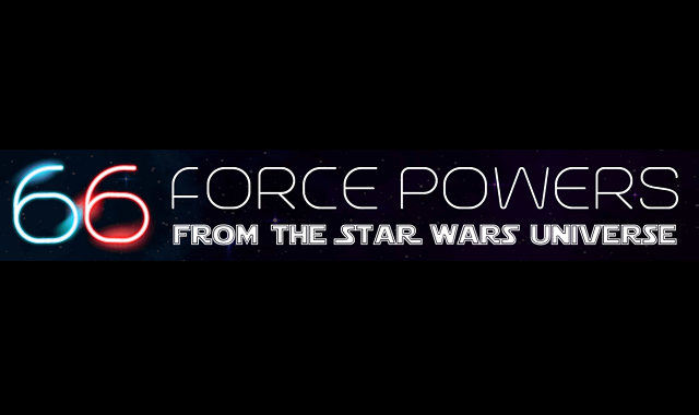 66 Force Powers from the Star Wars Universe