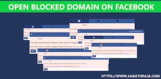 Cara mengatasi link blog tidak bisa di share ke Facebook