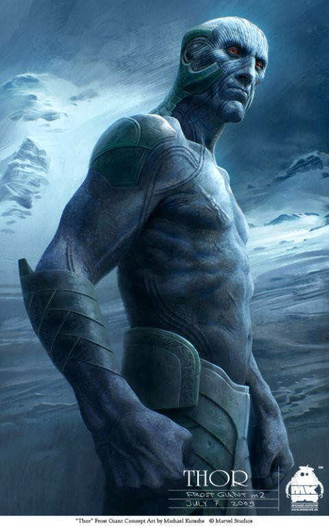 Michael Kutsche arte deviantart ilustrações fantasia ficção científica artes conceituais personagens character design cinema filme Thor