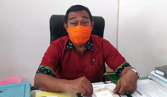 Sekretaris Dinas Tenaga Kerja Lumajang Totok Sudjarwo