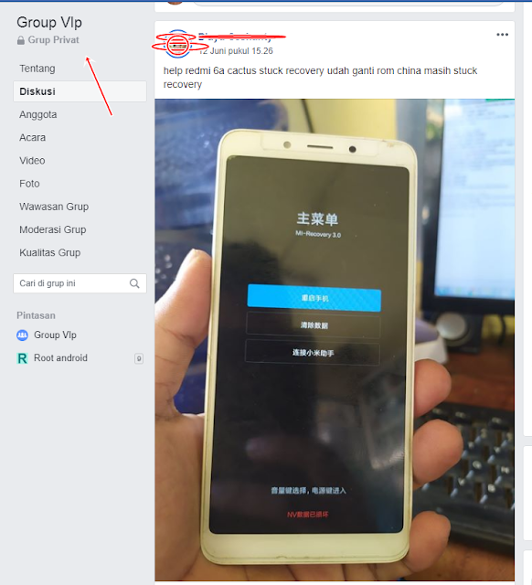 Redmi 6a stuck recovery done