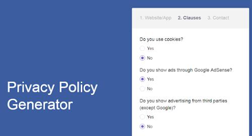Cara Membuat Privacy Policy Untuk Blogger Pemula