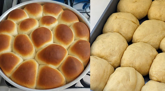 Pão de leite Caseiro e Fácil