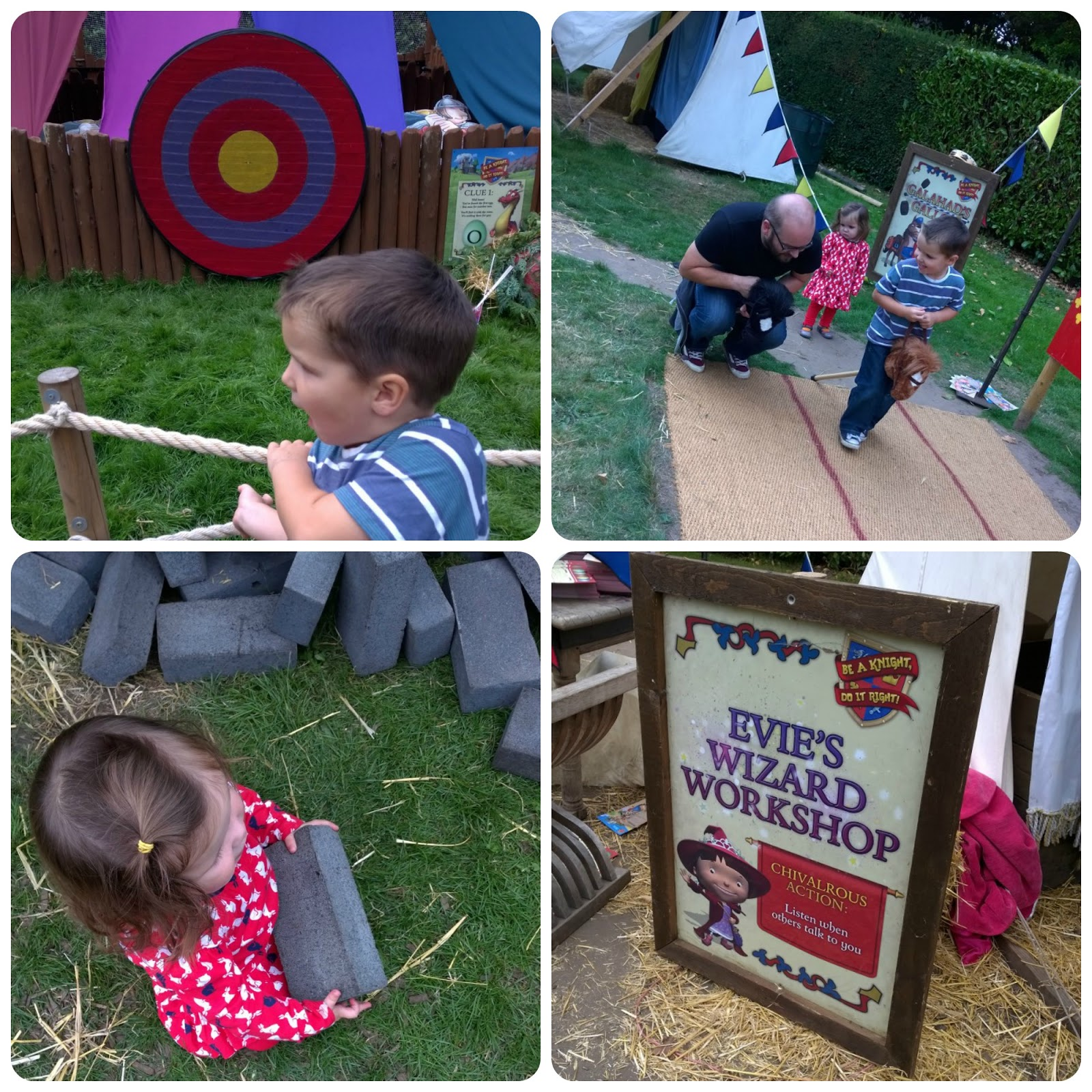 Warwick Castle Mike the Knight activities
