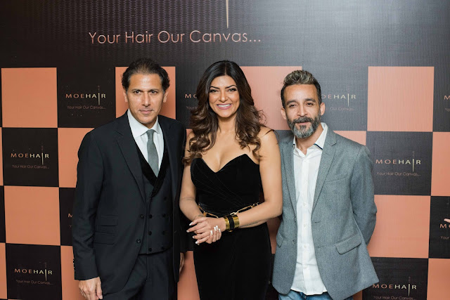 Sushmita Sen launches hair care brand Moehair for the Indian market