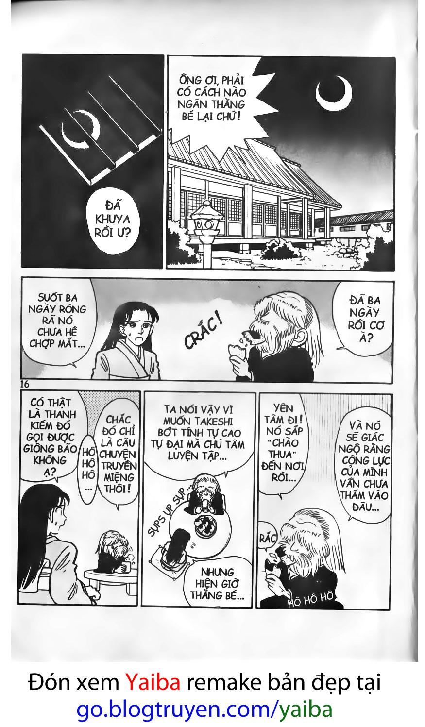 Yaiba chap 10 trang 14
