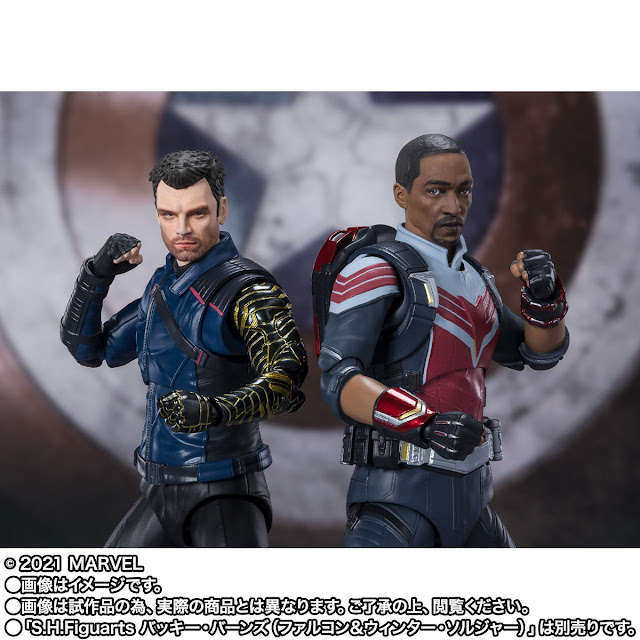 S.H.Figuarts The Falcon y The Winter Soldier, Tamashii Nations