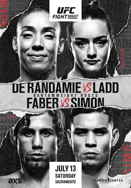 UFC On ESPN 13 Sacramento poster