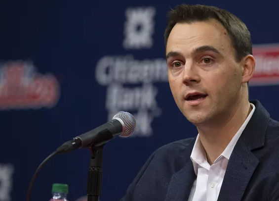 Matt Klentak at the Winter Meetings with the Phillies