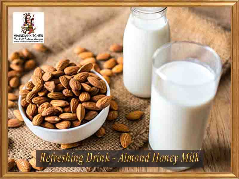 viaindiankitchen-refreshing-drinks-almond-honey-milk