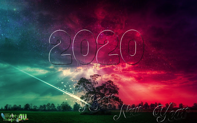 Happy New year 2020 Full HD Nature Background Wallpapers Free Download For Desktop/PC
