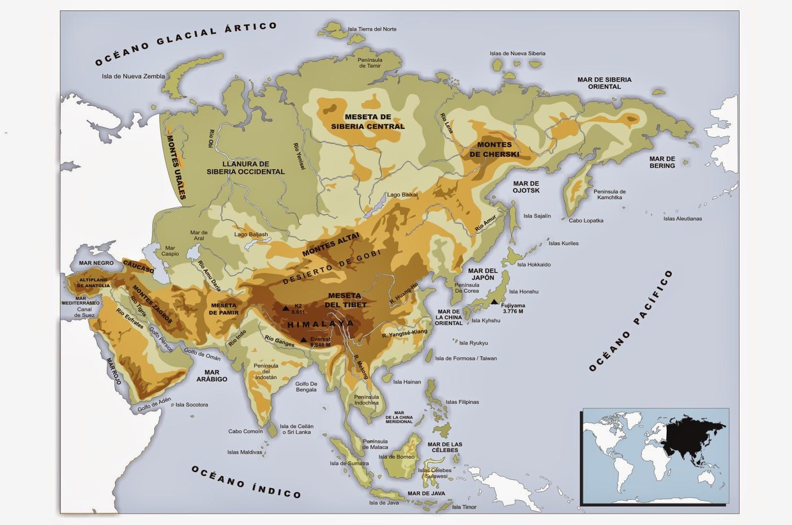 Clarn Digital 56 Los continentes mapa fsico y mapa poltico