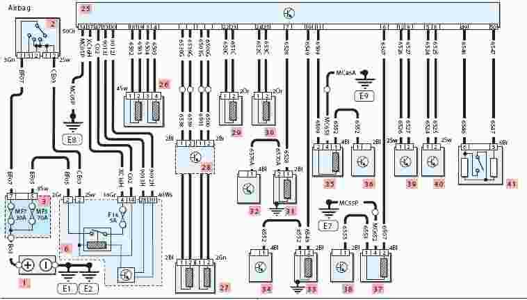 20012003 Peugeot 307 Wiring Diagram  Wiring Diagram Service Manual PDF