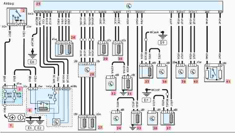 Ecu Wiring Diagram Peugeot 206  Somurich