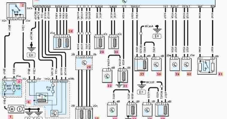 peugeot 307 wiring diagrams free