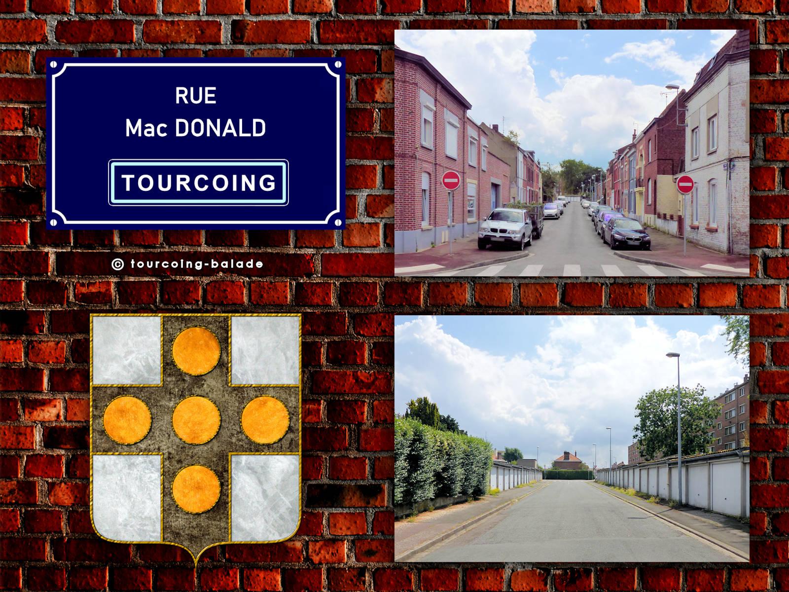 Rue Mc Donald, Tourcoing Pont de Neuville, 2020