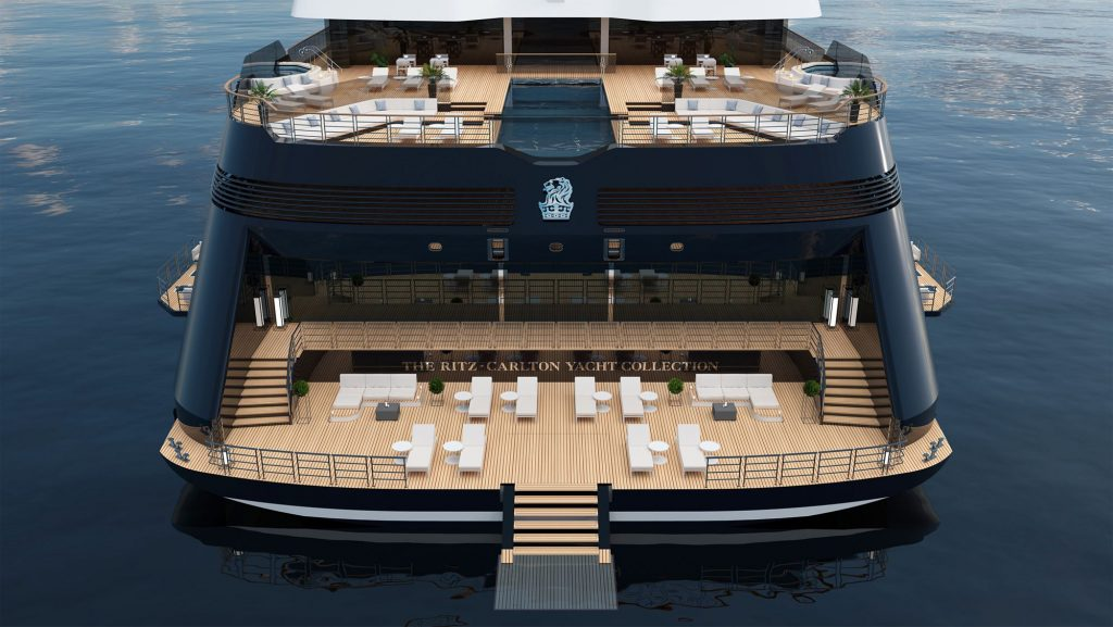 Marina Terrace Evrima The Ritz Carlton Yacht Collection