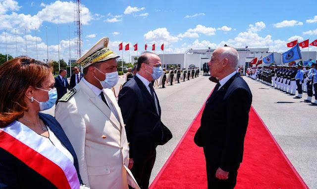 رئيس الجمهورية قيس سعيد يغادر تونس في اتجاه باريس (صور)