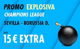 suertia promo Sevilla vs Dortmund 17-2-2021