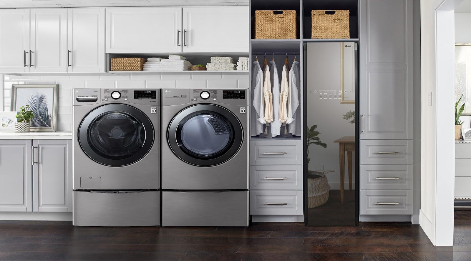 LG favorece el cuidado y manejo del agua gracias a su tecnología Eco Hybrid