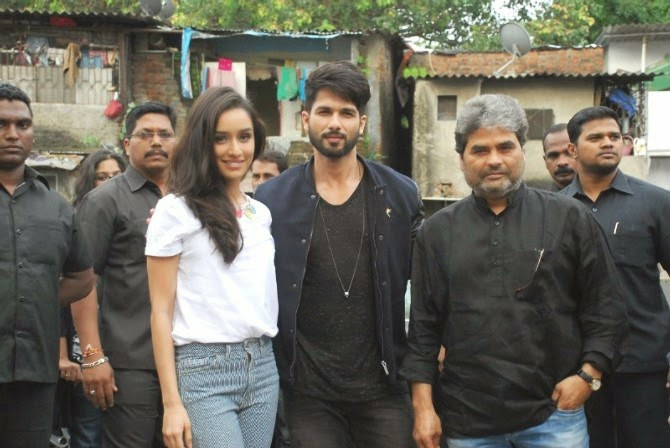 Haider Movie Promotion in Mumbai