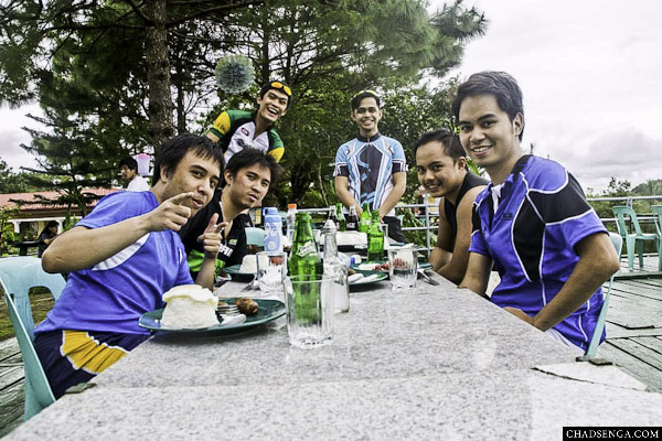Lunch, Bike Challenge: The Sierra Madre Experience