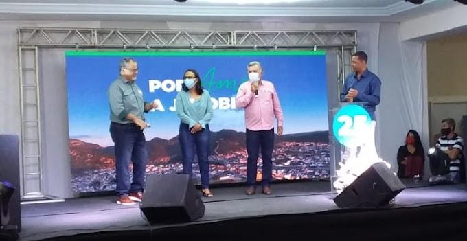 Jacobina: Convenção do Democratas escolhe Luciano da Locar e Renata da Caatinga