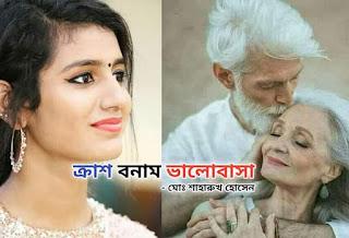 ক্রাশ বনাম ভালোবাসা - মোঃ শাহারুখ হোসেন