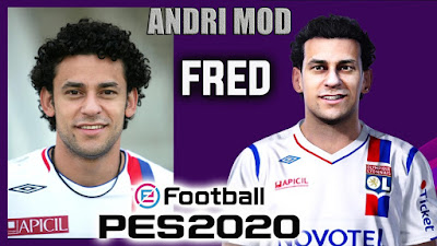 PES 2020 Faces Fred by Andri Mod