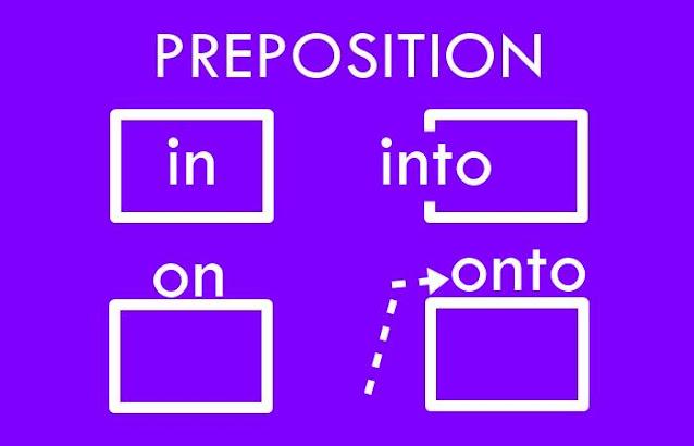 In, Into, On, Onto: Perbedaan Penggunaan Berikut Contoh Kalimatnya