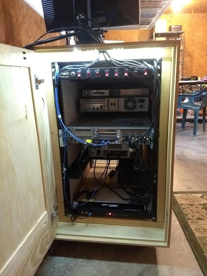 Diy Home Network Rack : network, Server, Plans