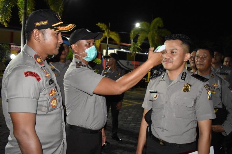 Ratusan Personil Polres Tanjungpinang Dikumpulkan di Halaman, Ada Apa Ya?