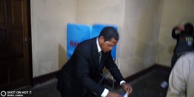 Atanga Nji Enjoins Population to Vote