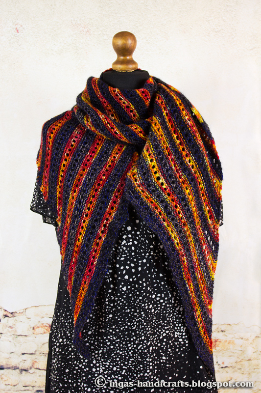 Triibuline sall / Striped Scarf