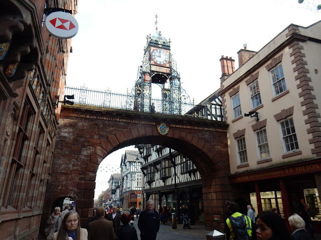Eastgate Clock, Chester, Midlands, Reino Unido, Elisa N, Blog de Viajes, Lifestyle, Travel
