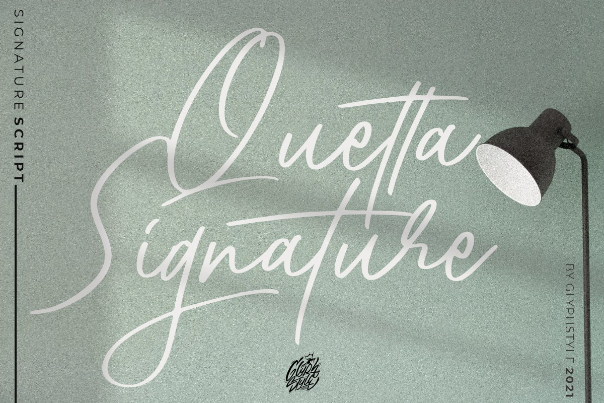 Quetta Font - Free Signature Script Typeface