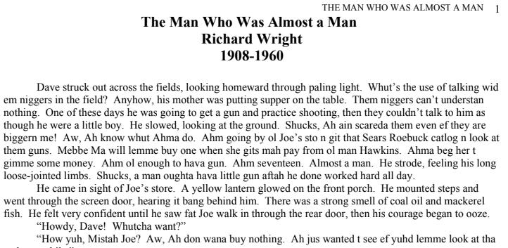 the man who was almost a man pdf, richard wright the man who was almost a man pdf, the man who was almost a man analysis, the man who was almost a man theme, the man who was almost a man symbolism, the man who was almost a man questions, the man who was almost a man audio, the man who was almost a man ending