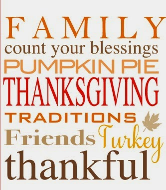 Silhouette School Blog, Happy Thanksgiving