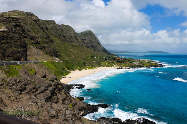 Hawaii is literally surrounded by beautiful beaches and turquoise waters