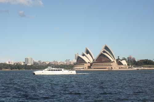 Sydney Opera House Australia From Across The Harbour