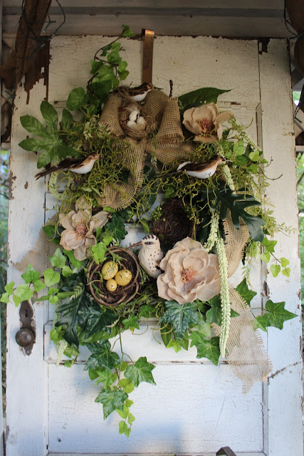 Bird Watcher Wreath
