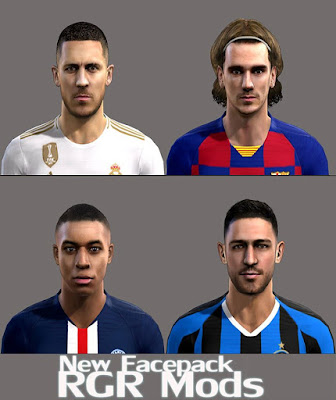 PES 2013 New Facepack V15.11 by RGR Mods