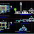 مشروع مسجد اوتوكاد dwg Plan Autocad dun Mosquée dwg